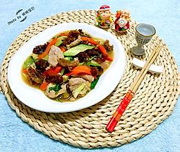 爆炒海蜇头#维达与你韧享年夜饭#的做法