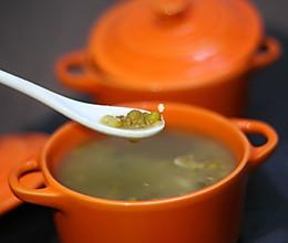 清热解毒的百合绿豆汤的做法