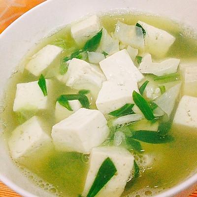 减肥版豆腐汤