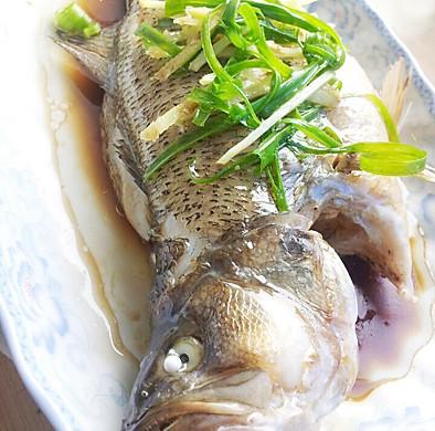 【低热量】清蒸鲈鱼