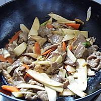 香菇茭白炒肉片的做法图解10