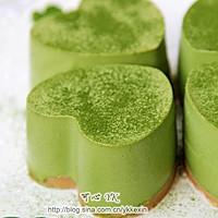 #豆果5周年#四叶草抹茶慕斯蛋糕的做法图解6