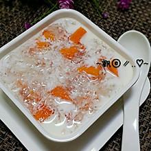 木瓜牛奶燕窝----最佳美容养颜的甜品#夏日时光#