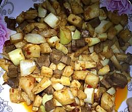 蒜蓉茭白丁的做法