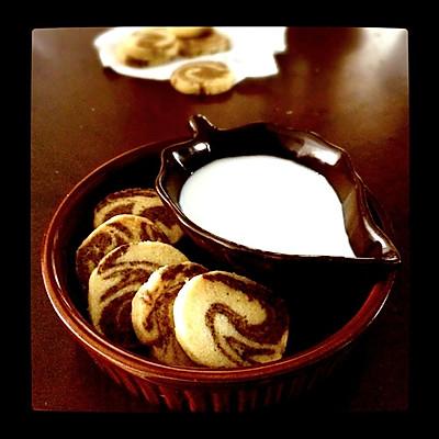 大理石饼干(咖啡香)