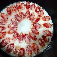 腊肠焖饭#美的初心电饭煲#的做法图解2