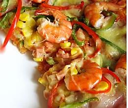 比萨饼皮及酱料合成烘焙的做法