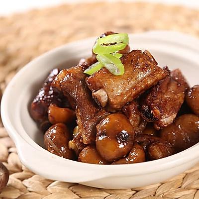 栗子焖排骨—捷赛私房菜