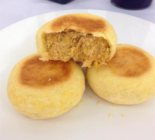 【金丝肉松饼】做法