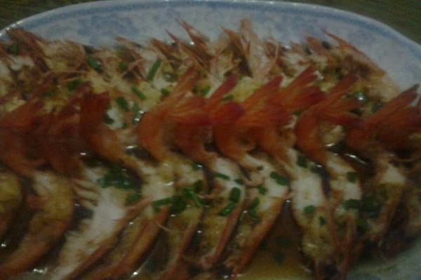 美味蒸虾的做法