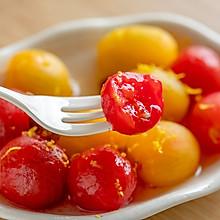 #硬核菜谱制作人#冰镇话梅小番茄|酸甜开胃