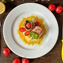 快手菜 培根蔬果沙拉卷