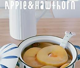 刮油苹果山楂茶的做法