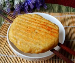 咸香豆渣饼的做法