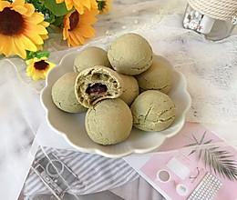 抹茶蔓越莓麻薯的做法