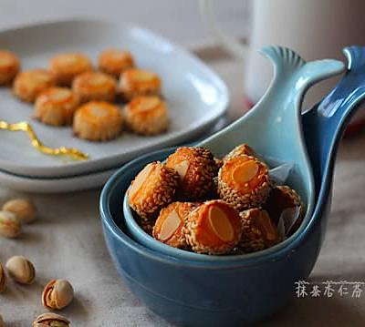 香香酥酥~~杏仁小西饼