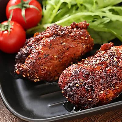 两分钟学会黑椒烤肉,抗饿一整天的营养大菜