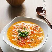 番茄鸡蛋疙瘩汤#全民赛西红柿炒蛋#