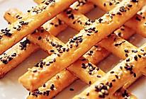 芝麻红薯积木饼干,儿童节的好玩甜点的做法