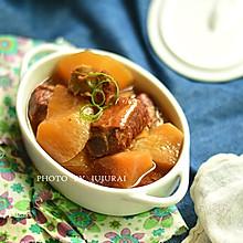 白萝卜炖排骨—冬季暖身