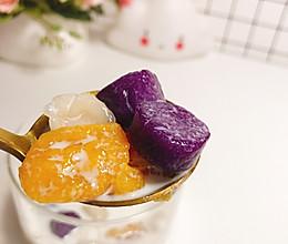 #童年不同样 美食有花样#宝宝版三色芋圆12+的做法