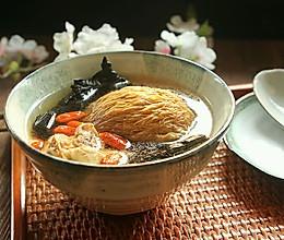 灵芝猴头菇枸杞汤#胃,我养你啊#的做法