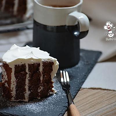 可可漩涡蛋糕-简单就是美