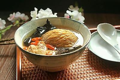 灵芝猴头菇枸杞汤#胃,我养你啊#