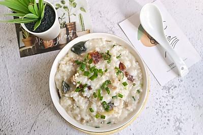 #快手又营养,我家的冬日必备菜品#皮蛋瘦肉粥这样做,肉嫩米糯