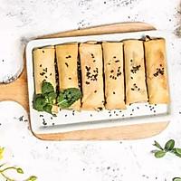 九阳知食 | 中式传统豆沙春卷