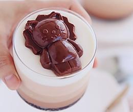 卡通巧克力慕斯蛋糕的做法