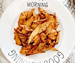 家庭版烧烤杏鲍菇的做法