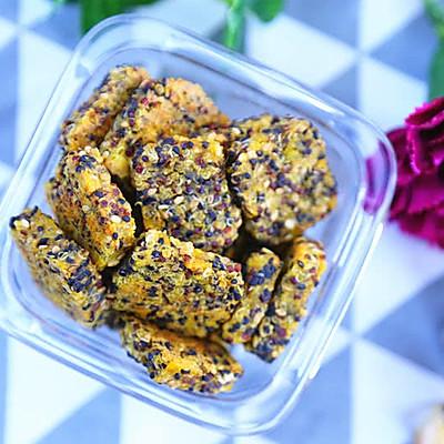 红薯藜麦能量饼干 宝宝辅食食谱