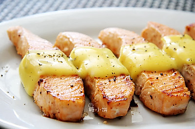 【芝士三文鱼】熟吃易消化