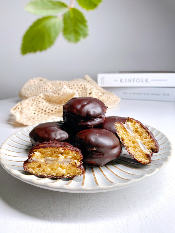 简单几步轻松复刻经典美味 海绵巧克力派