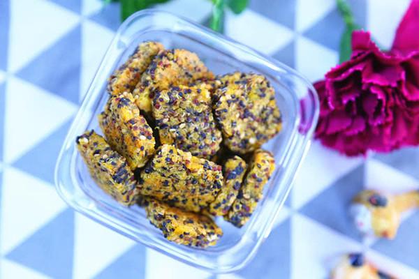 红薯藜麦能量饼干 宝宝辅食食谱的做法