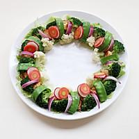 圣诞花环-丘比沙拉汁的做法图解12