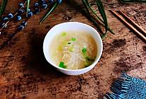 虾皮萝卜汤的做法
