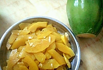 清炒海南本地木瓜的做法