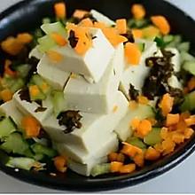 香椿酱拌豆腐