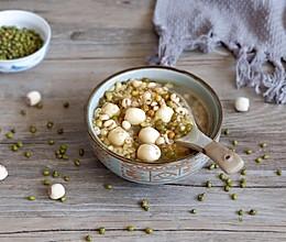莲子薏仁绿豆汤的做法