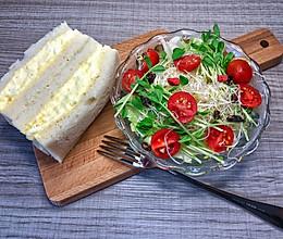 日式蛋沙拉三明治的做法