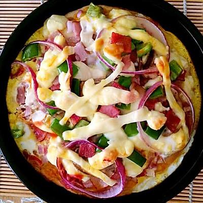 6寸培根披萨
