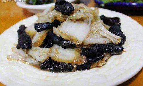 蒜蓉黑白菜的做法