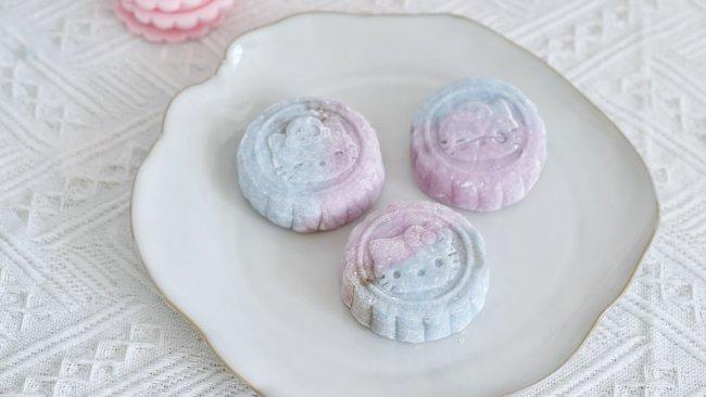 梦幻冰皮月饼的做法
