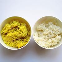 巧做小鸡米饭团的做法图解3