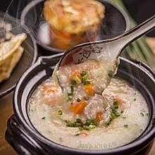 粥日食丨羊肉胡萝卜小米粥