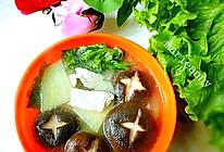 土豆香菇肉片汤的做法
