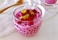 度夏消暑好饮品,火龙果西米露(附西米快熟的方法及注意事项)的做法
