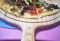 无芝士牛肉蘑菇披萨的做法